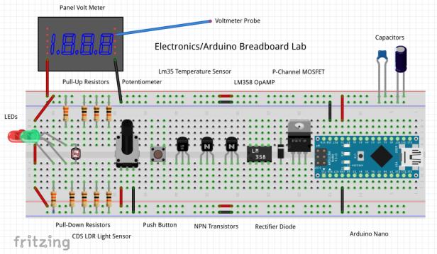 electronicsarduinobreadboardlab