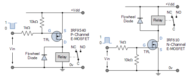 n-and-p-mosfet-circuits